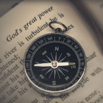 Compass pointing to God 150