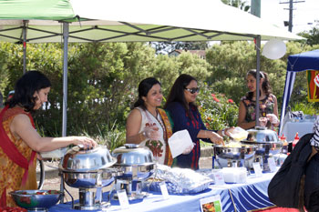 Mary Mother of the Church Macquarie Fields Multi Cultural and Feast day food 350