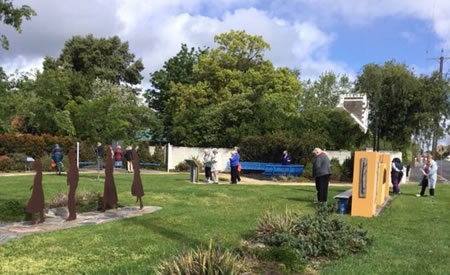Mary MacKillop Pilgrimage Stable Park 450