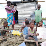 Mozambique flood appeal family 150